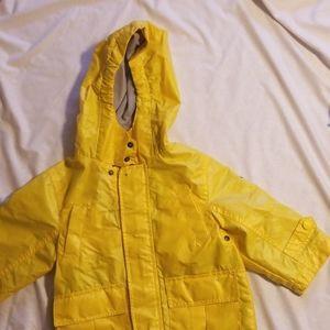 toddler size 18 months raincoat